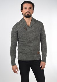Solid - PHIL - Jumper - dark grey - 0