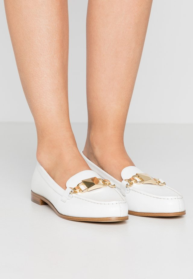 EMILY LOAFER - Instappers - optic white