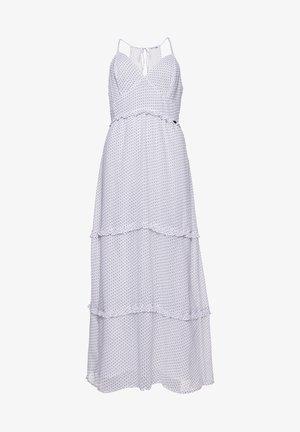 MARGAUX - Maxi dress - white polka dot