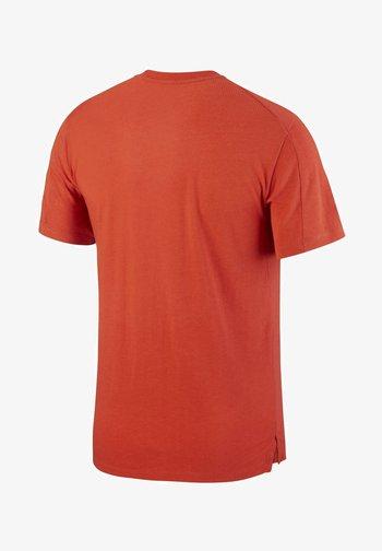 BURNOUT - Camiseta estampada - mantra orange/mystic dates