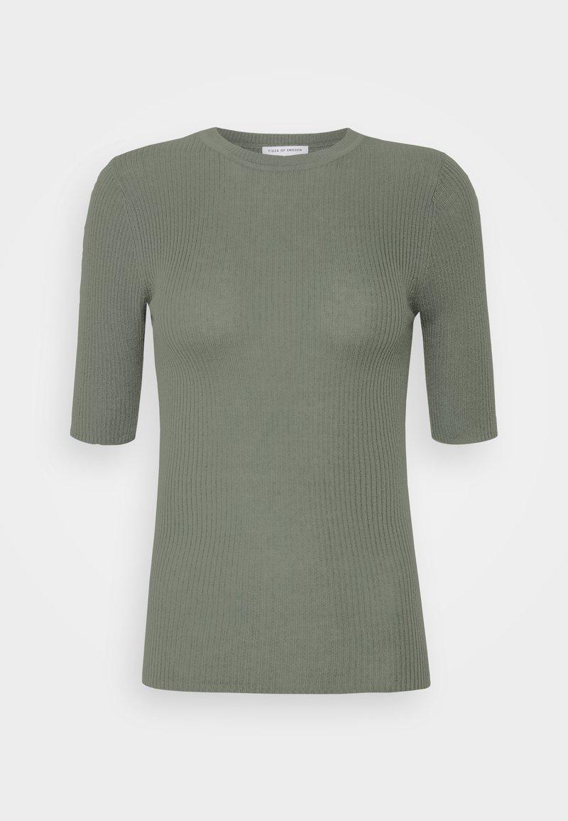 Tiger of Sweden - ORVI - Basic T-shirt - evergreen