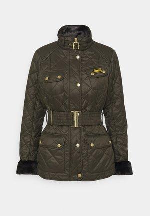MODERN INTERNATIONAL POLARQUILT - Winter jacket - moto green