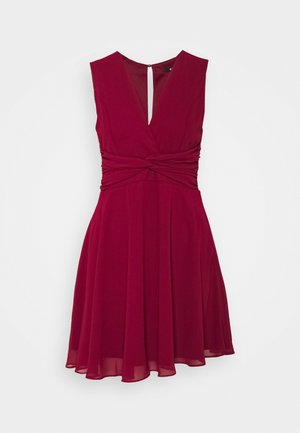 SOREAN MINI - Cocktailjurk - burgundy