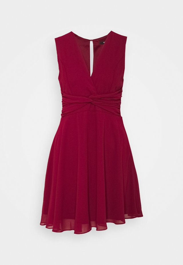 SOREAN MINI - Cocktail dress / Party dress - burgundy