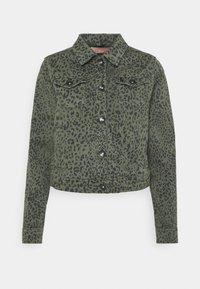 Frieda & Freddies - JACKET - Denim jacket - green - 0