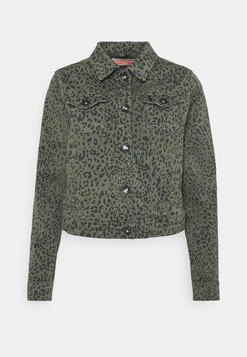JACKET - Denim jacket - green