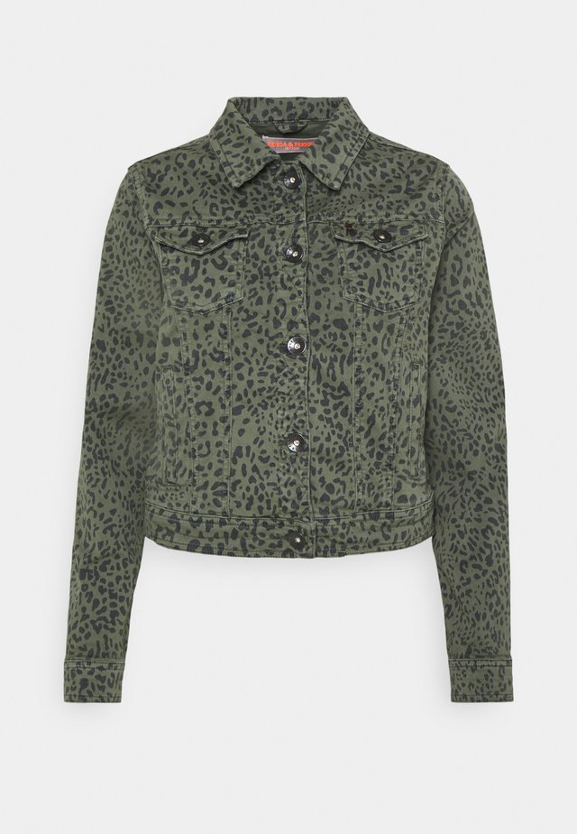 JACKET - Jeansjacka - green