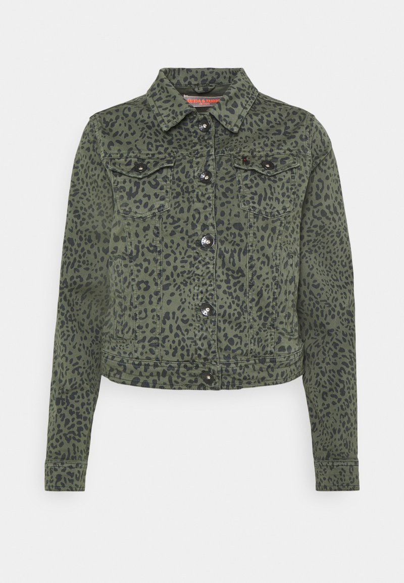 Frieda & Freddies - JACKET - Denim jacket - green