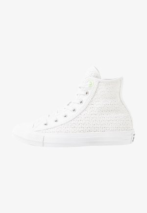 CHUCK TAYLOR ALL STAR - Zapatillas altas - white/barely volt
