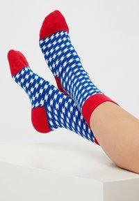 Natural Vibes - STRIPE SOCKEN AUS BIOBAUMWOLLE - Socks - blue - 1