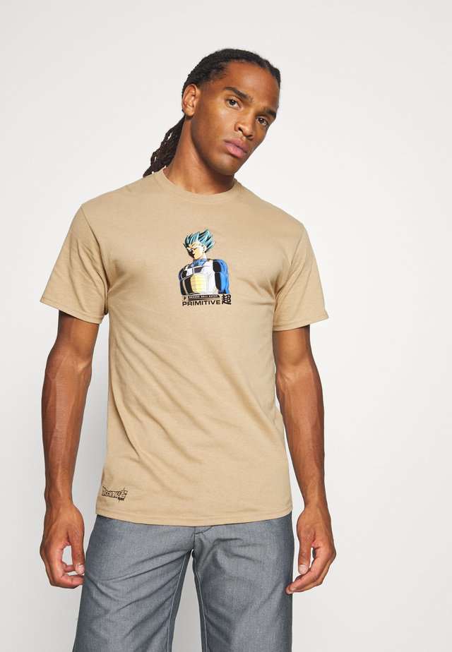 SHADOW VEGETA TEE - T-shirt con stampa - sand