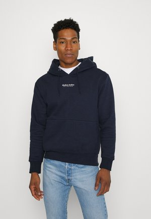 JPRBLUWOODY HOOD - Sweatshirt - navy blazer