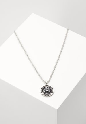 CELESTIAL ENAMEL PENDANT - Collana - silver-coloured
