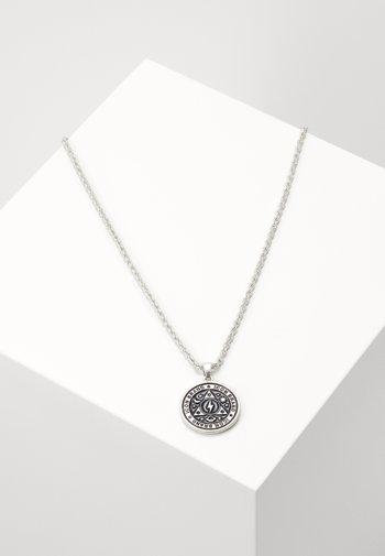 CELESTIAL ENAMEL PENDANT - Halsband - silver-coloured