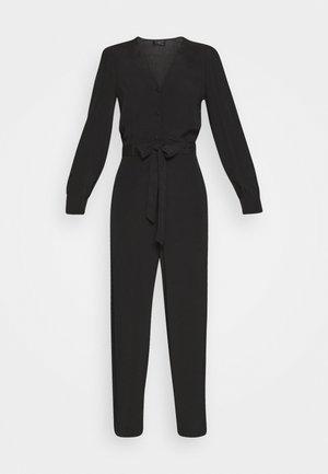 SLFRIYANKA BELTED - Jumpsuit - black