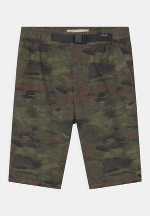STRAIGHT FIT SUMMER TRAIL - Shorts - khaki