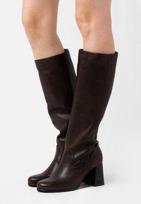 lilimill - Vysoká obuv - twister brown - 0