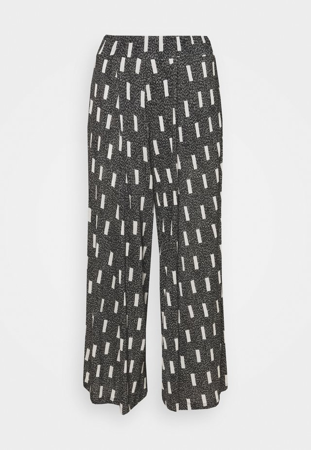 GOOD TIME PANTS - Pantalon classique - blocks print
