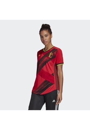 BELGIUM RBFA HOME JERSEY - National team wear - red