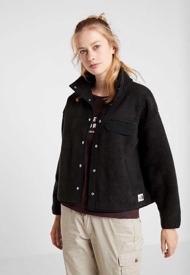 WOMENS CRAGMONT JACKET - Fleece jacket - black