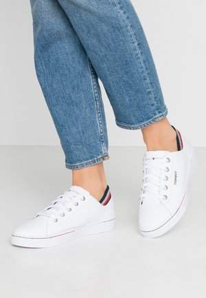 GLITTER DETAIL CITY SNEAKER - Joggesko - white
