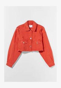 Bershka - Denim jacket - red - 4