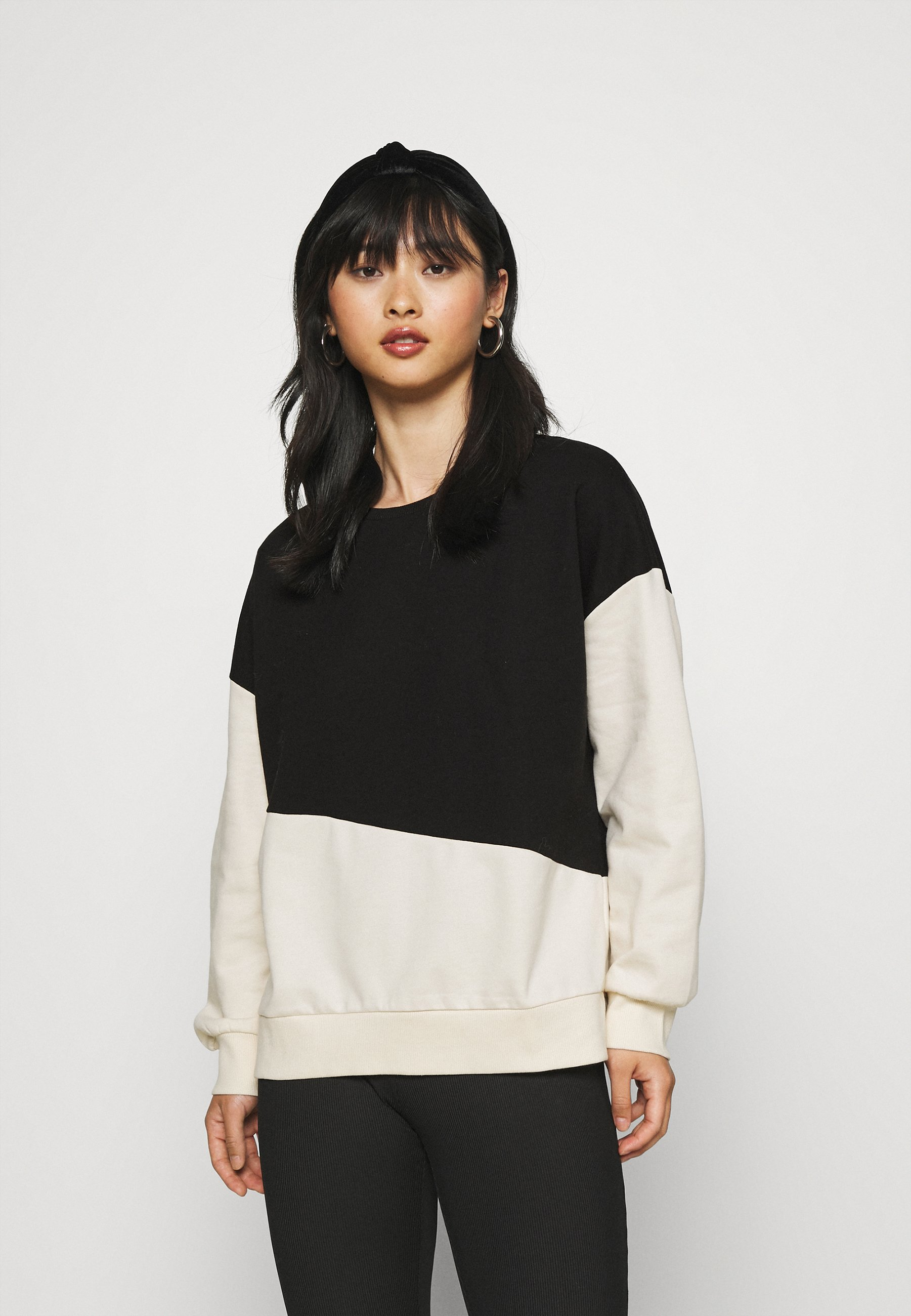 Women ONLDREAMER COLORBLOCK - Sweatshirt