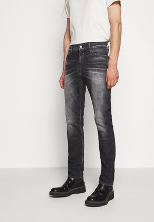 RONNIE MAJOR - Slim fit jeans - black