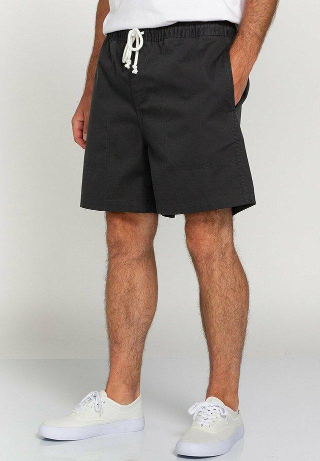 MANUAL TWILL - Shorts - off black