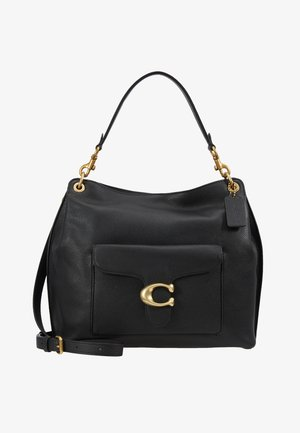 POLISHED PEBBLE TABBY  - Borsa a mano - black