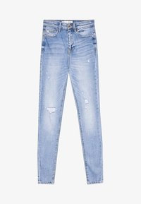 Stradivarius - Jeans Skinny Fit - light-blue denim - 4