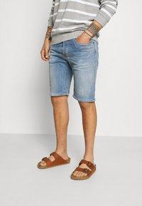 Replay - HYPERFLEX - Denim shorts - medium blue - 0