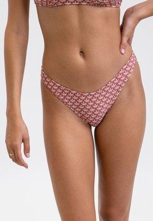 SIREN HI - Bikini bottoms - pink/white