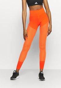 adidas Performance - Tights - active orange - 0