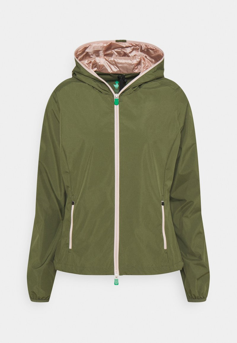 Save the duck - STELLA - Summer jacket - cactus green
