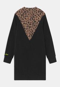 Vingino - PRISILA LEOPARD - Denní šaty - deep black - 1