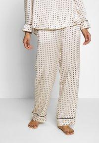 ASCENO - THE LONDON BOTTOM - Pantaloni del pigiama - cream - 0