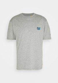 Caterpillar - SMALL LOGO  - T-shirt con stampa - heather grey - 0