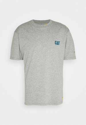 SMALL LOGO  - Print T-shirt - heather grey