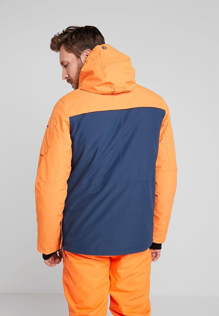 CLAYTON Skijacke dark orange
