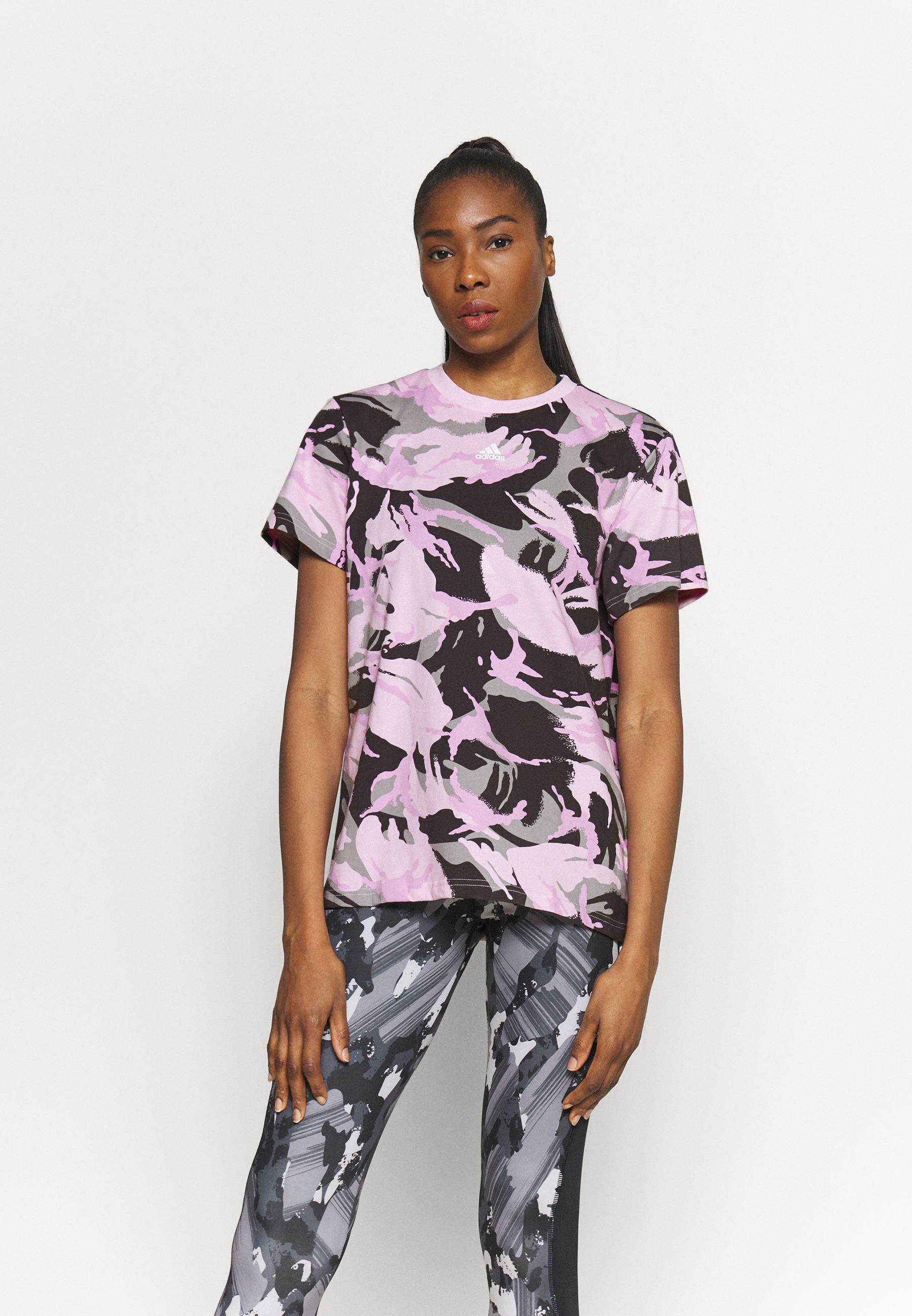 Women CAMO - Print T-shirt