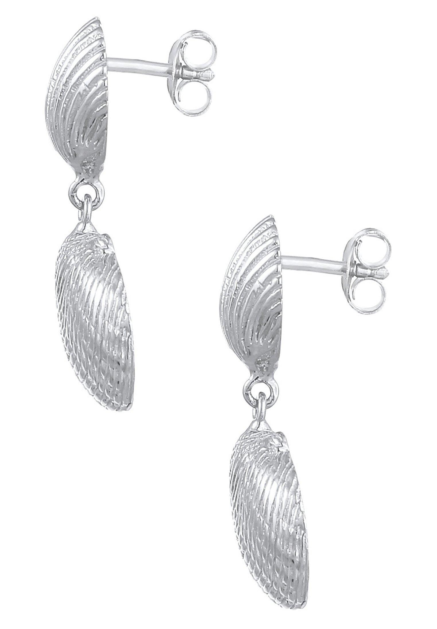 Elli Muschel - Ohrringe Silber