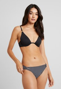 Esprit - SELENA BEACH MINI BRIEF - Bikini bottoms - black - 0