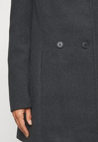 Vero Moda Petite - VMCLASSLINE JACKET - Manteau classique - dark grey melange - 6