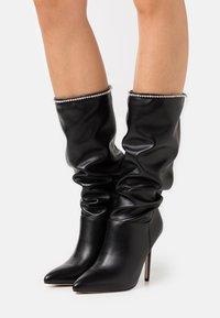 BEBO - SHORE - Boots med høye hæler - black - 0