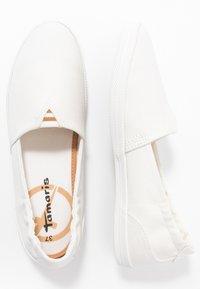 Tamaris - Slippers - white - 3