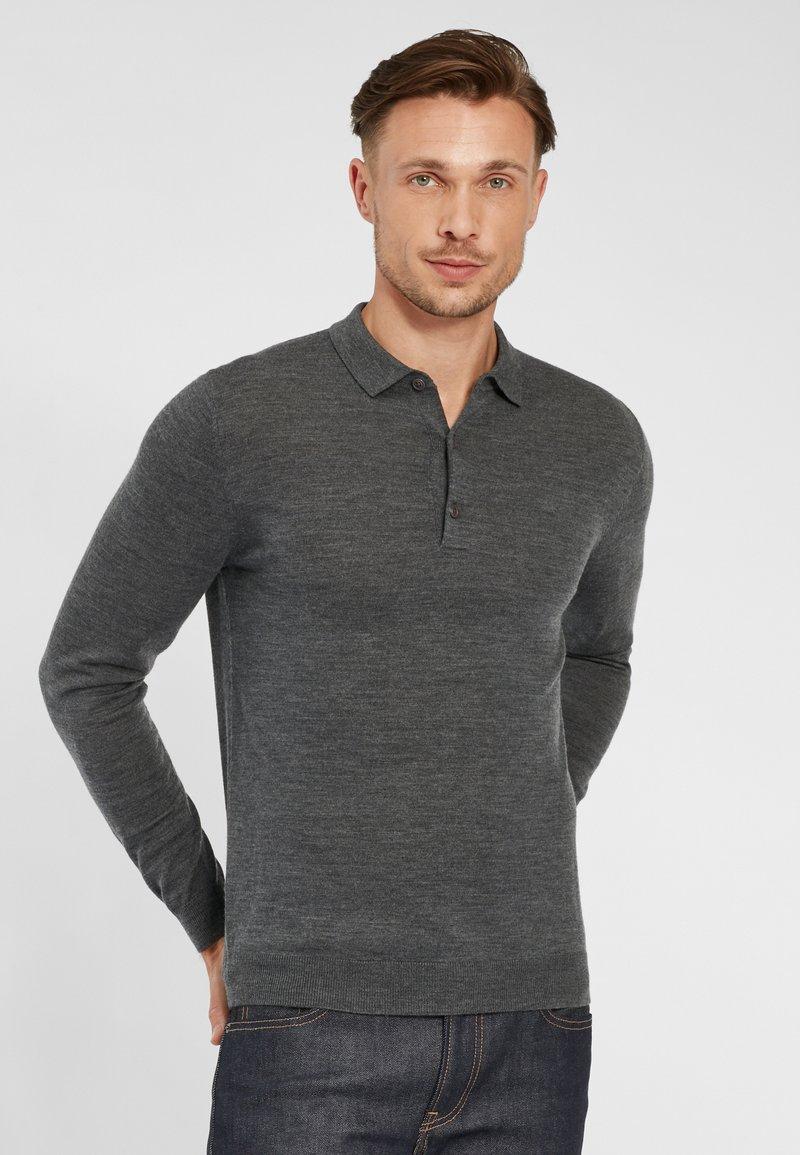 PROFUOMO - PROFUOMO - Polo shirt - anthra