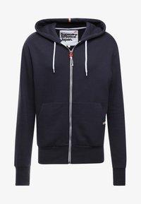 Superdry - Zip-up hoodie - american navy - 4