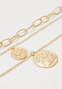 Urban Classics - LAYERING NECKLACE PATRICIA - Collana - gold-coloured - 2