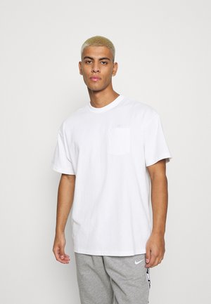 TEE POCKET - T-shirt - bas - white